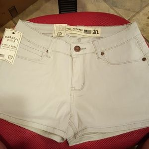 Barbell gray shorts